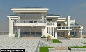 5 Bedroom Plan House Plans House Design Contemporary House Plans