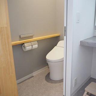 Tamaさん Tama Living Instagram写真と動画 トイレ インテリア クロス 補修 家 づくり
