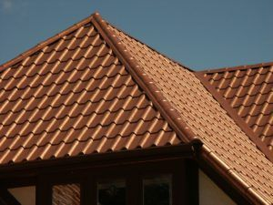 Metal Roofing Looks Like Ceramic Tile Copper Roof Metal Roof Clay Roof Tiles