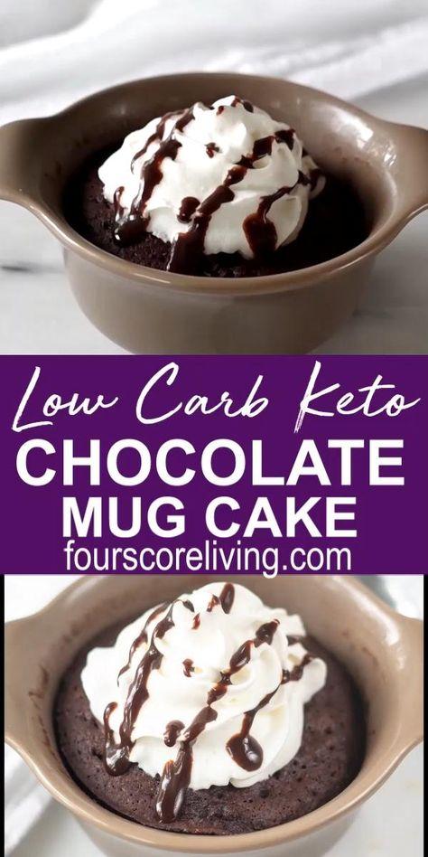 Easy Keto Chocolate Mug Cake