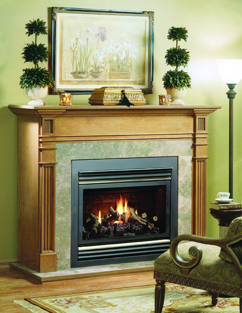 Kingsman Fireplace Direct Vent Gas Fireplace Gas Fireplace
