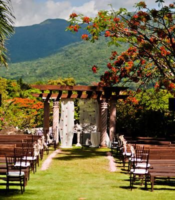 131 best puerto rico weddings images on pinterest destination gorgeous wedding ceremony setup in puerto rico junglespirit Gallery