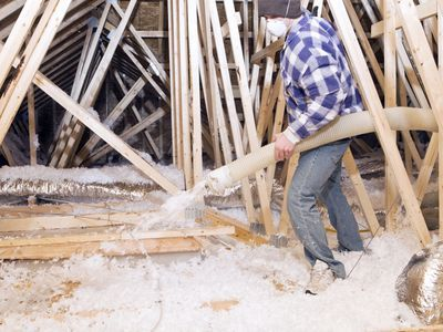 What You Should Know About Blow In Cellulose Insulation Attic Insulation Blown In Insulation Attic Renovation