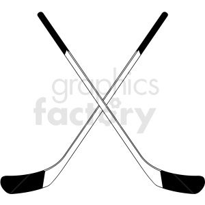 Crossed Hockey Sticks Clipart Design Royalty Free Clipart 412939 Clip Art Clipart Design Design