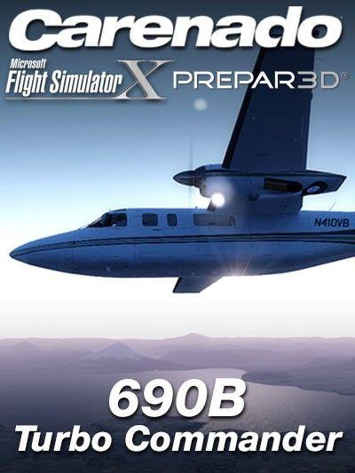 CARENADO : 690B Turbo Commander Special Features Full FSX