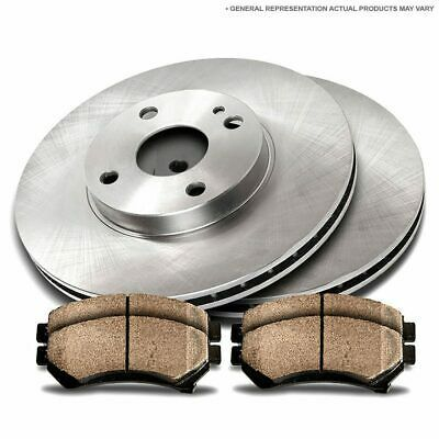 Platinum Hart DRILLED SLOTTED BRAKE ROTORS /& PADS-Cadillac ESCALADE 07 FULL KIT
