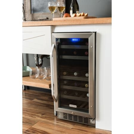 Edgestar Cwr262dz Built In Wine Cooler Dual Zone Wine Cooler Wine Cooler