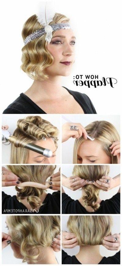 1920 S Frisyrer Ny Har Stiler 2018 Flapper Girl Hairstyles Flapper Hair Long Hair Styles