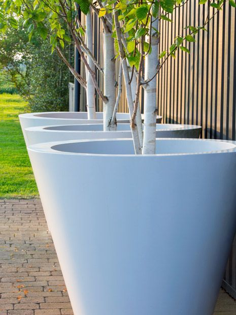 Conical Ultra Large Garden Pots Made To Order Modern Planters Outdoor Large Garden Pots Planters