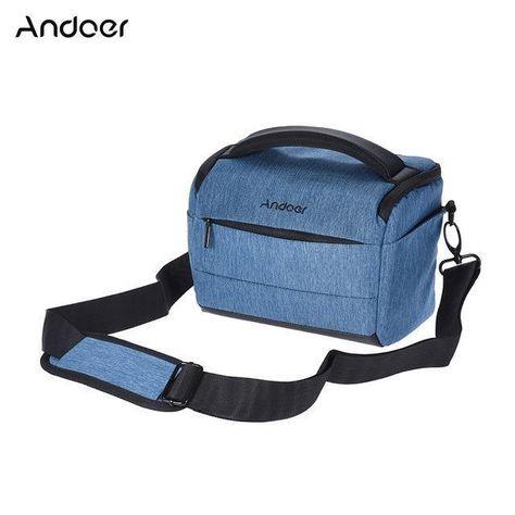 Andoer Dslr Camera Bag Polyester Shoulder Bag Camera Case