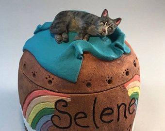 Custom Cat Urns Cat Urns Pet Urn Pet Cremation Cat Made To Order Any Cat Breed Pet Urns Custom Cat Cat Urns