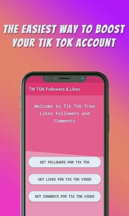 Boost Tik Tok Account Fast In 2020 How To Get Followers Tik Tok Likes App