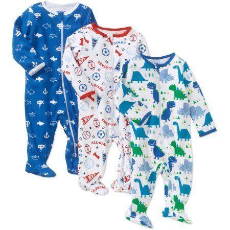 Blue Whales Hudson Baby Boy Zipper Sleep N Play 2-Pack