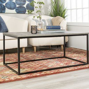 Accent Tables Coffee Tables Nightstands And More You Ll Love Wayfair Industrial Style Coffee Table Coffee Table Furniture Coffee Table Vintage