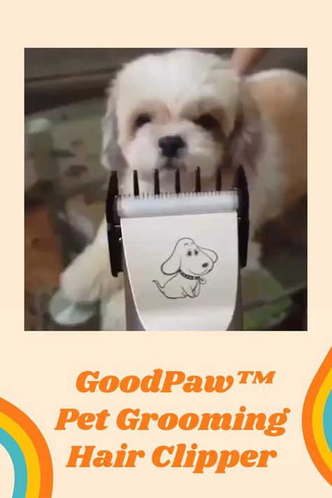 Stop Paying Hundreds of Dollars for Pet Grooming - Do it professionally at home with GoodPaw™ ⭐⭐⭐⭐⭐