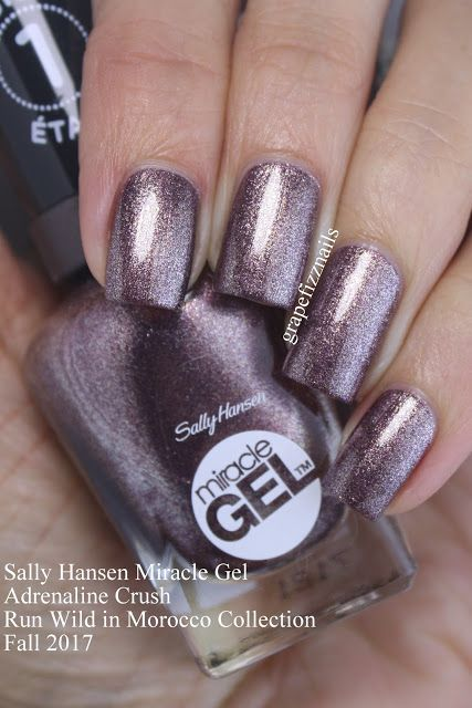 Sally Hansen Miracle Gel Adrenaline Crush
