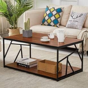 Three Posts Kanagy Coffee Table With Storage In 2020 Coffee