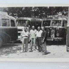 Fotografia De Autobuses Autocares Años 50 Mide 10 X 7 Cms Autobus Fotografia Fotografía Antigua