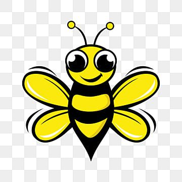 Bee Logo Design Concept Abstract Creative Bee Icon Bee Clipart Logo Icons Creative Icons Png And Vector With Transparent Background For Free Download Bee Icon Cartoon Bee Bee Clipart