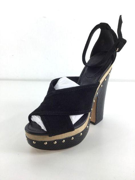 1dd555d610f 49 NEW Alexandre Birman Peggy Black Suede Python Clog Sandals Womens Size  38 M  fashion  clothing  shoes  accessories  womensshoes  heels (ebay link)