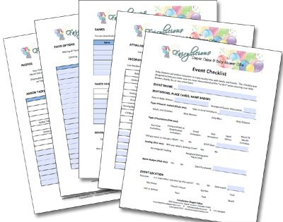Download an editable PDF Event Planning Checklist at   - event planner contract