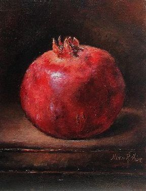 Pomegranate Ruby Glow III - Media - Artist Daily
