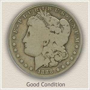 1888 Morgan Silver Dollar Good Condition Silver Dollar Value Silver Dollar Coin Value Silver Dollar Coin