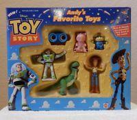 Disney Pixar Toy Story 2 Andy S Favorite Toys Mattel Figure Set Lenny Rex Hamm Pixar Toys Disney Toys Disney Pixar