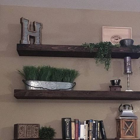 floating shelves wall shelves farmhouse shelf bathroom shelf rh pinterest com