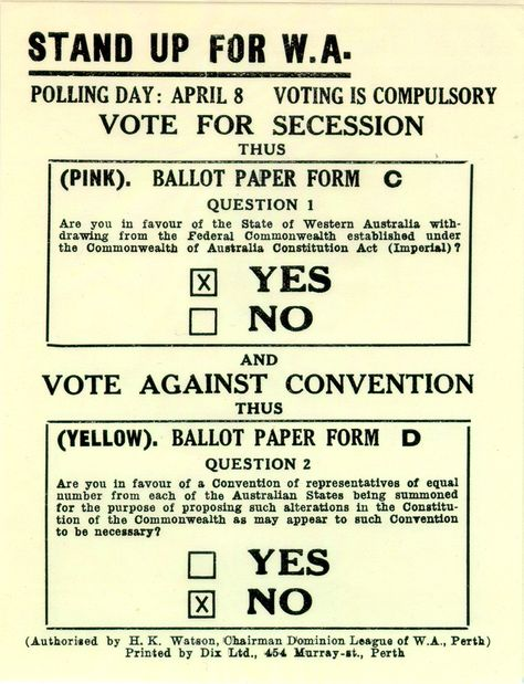 How Would You Have Voted In The Succession Referendum Of 1933