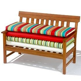 Diy Bench Cushion No Sew Could Make These For The Deck Furniture With Outdoor Fabric Must