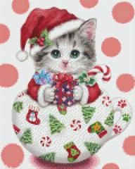 9 Baseplate kit - Christmas Teacup Kitty