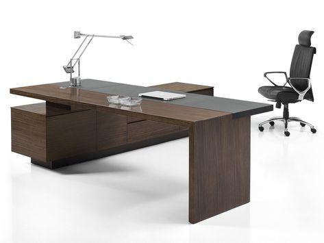 Eckschreibtisch büro  Chefmöbel Como Zebrano - Artikel BM0244 | Schreibtische | Pinterest