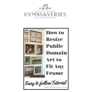 How to Resize Downloaded Art to Fit Any Frame