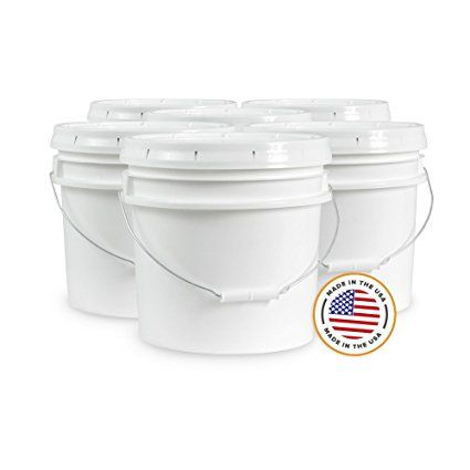 Food Grade 3 5 Gallon Bucket – 6 Pack With Lids Review