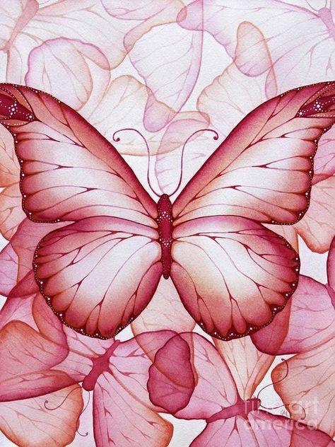 Ahsap Boyama 58 Kelebek Desenli Dekupaj Kelebekler Tablolar Ve