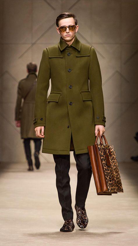Spotted Animal Print Tote Bag | #Burberry #fashion #men #bag