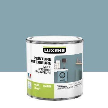 Peinture Mur Boiserie Radiateur Multisupports Luxens Aqua