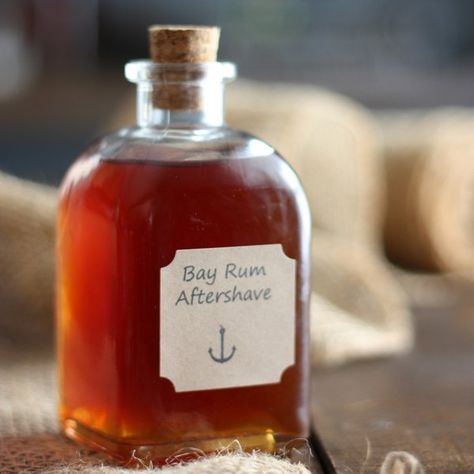 Sweet and spicy notes with a hint of citrus, this bay rum aftershave recipe is as manly as it gets. Based on the 16th century recipe developed by sailors, only easier.