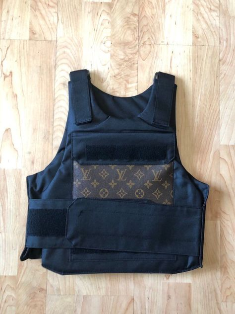 Exclusive Louis Vuitton bullet proof vest (black) by HallOfFameTees on Etsy https://www.etsy.com/au/listing/700275385/exclusive-louis-vuitton-bullet-proof