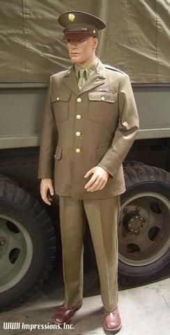 Image result for WWII US Army Uniforms