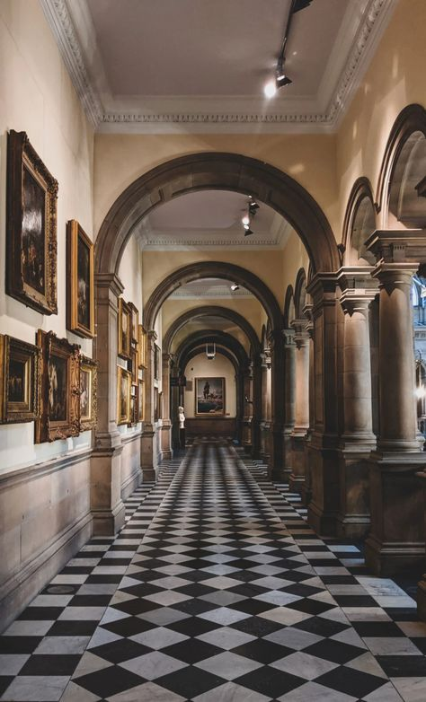 Kelvingrove Art Gallery and Museum, Glasgow, Scotland, UK Aesthetic Art, Aesthetic Pictures, Painting Gallery, Art Gallery, Scotland Uk, Glasgow Scotland, Glasgow City, Dark House, Old Trees