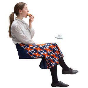 Sitting Woman Png Women Fashion Sit