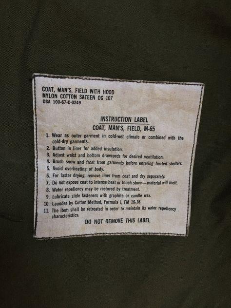 M-65 Vietnam Era Field Jacket con cappuccio con di MidNorthMerc