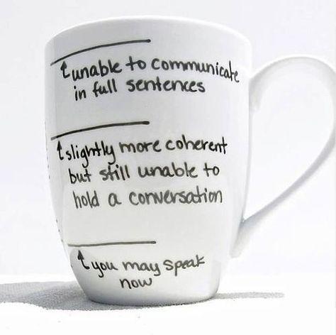 cute diy mug for coffee addicts