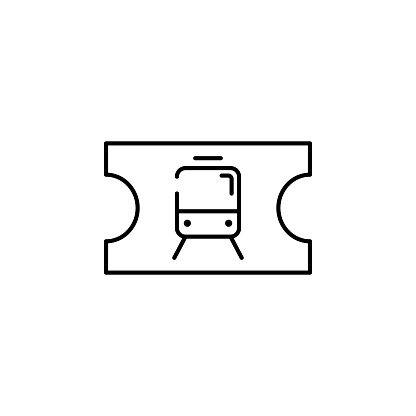 Metro Ticket Icon Element Of Transportation Icon For Mobile Concept Metro Icons Icon Web App