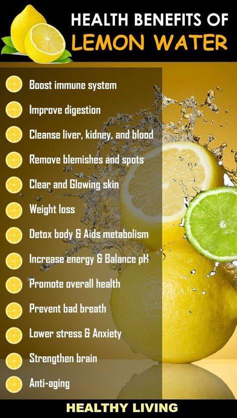 Health Benefits of Drinking lemon Water. Lemon wat - #Benefits #Drinking #health #lemon #wat #Water