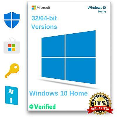 Ad Windows 10 Home 32 64 Bit Genuine Activation License Key Multi Language 2020 In 2020 Windows 10 Microsoft Windows Windows