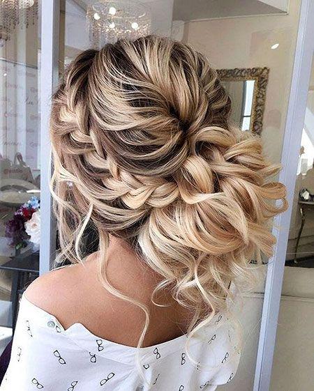 Lange Frisuren 20 Lange Lockige Hochzeit Frisuren 2017 Haarfarben