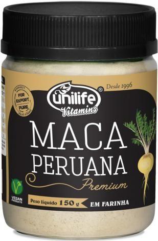 Farinha De Maca Peruana Premium Unilife 150g Maca Peruana